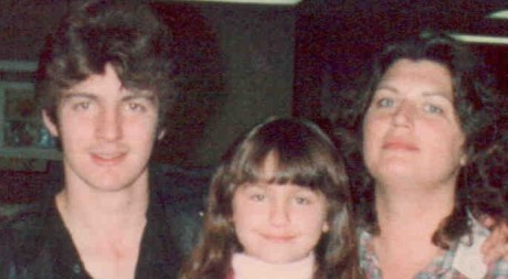 Carl, Ava and me April 1984