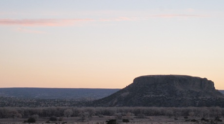 How's this for dusk in New Mexico?