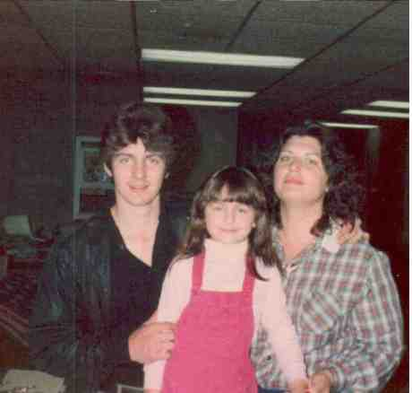 This was the last picture ever taken of the three of us...March, 1984. Poignant, huh?