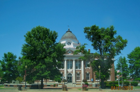 Early County Courthouse in Blakely, Georgia.