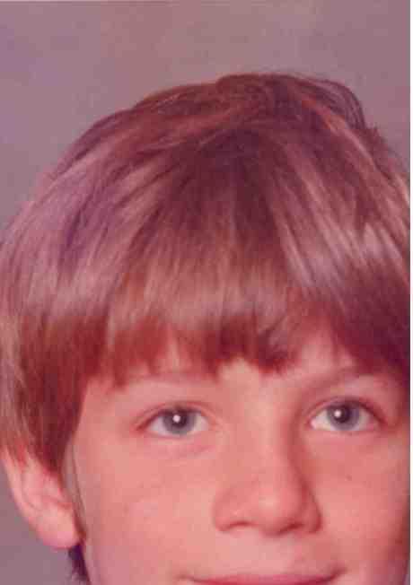 My blue eyed baby...Carl around age 8.