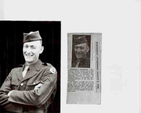 Bruce Friend-1944 photo and story of his D-Day experiences!